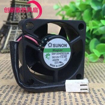 Original SUNON 4020 12V 2.4W GM1204PKVX-8A 4CM40 40 20mm three-wire magnetic suspension fan