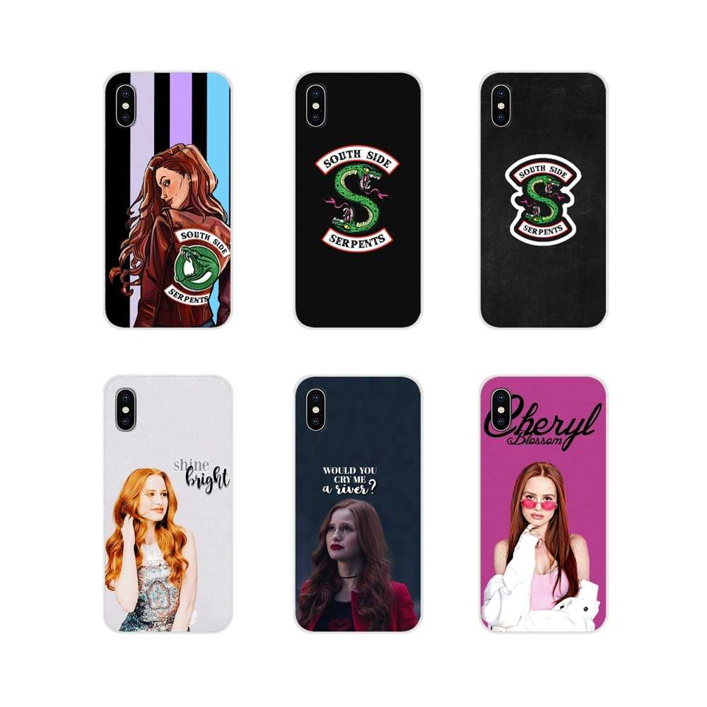 For Apple iPhone X XR XS MAX 4 4S 5 5S 5C SE 6 6S 7 8 Plus ipod touch 5 6 Cell Phone Cases Cover MAX tv riverdale cheryl blossom