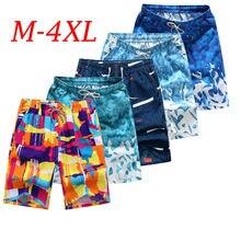 New Men's Swim Trunks Beach Shorts Surf Board Print Shorts Summer Sports Pants Breathable
