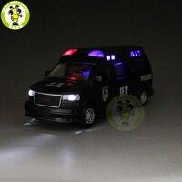 1/32 GMC SAVANA Diecast Metal Model Car Toy Boy Girl Gift Pull Back Sound Lighting