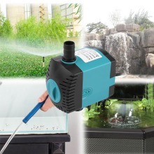 Electric Ultra-quiet Water Pump Energy-saving Submersible Pump Fish Tank Adjustable Water Flow Aquarium Pond Fountain Water Pump стоимость