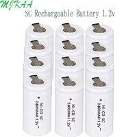 2400mAh 1,2 V rechargeable SC аккумуляторная батарея для Makita для Dewalt для Bosch