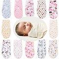 Fundamento do bebê Swaddle Bebê Swaddle Envoltório Envelope para Recém-nascidos 100% Algodão Macio Infantil Blanket & Panos Cobertor Envoltório Sleepsack