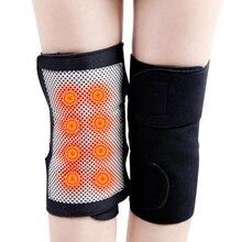 1 paar Therapie Gesundheit Pflege Spontane Fieber Magnetische Joint Turmalin Selbst Heizung Knie Erwärmung Übung Kneepad