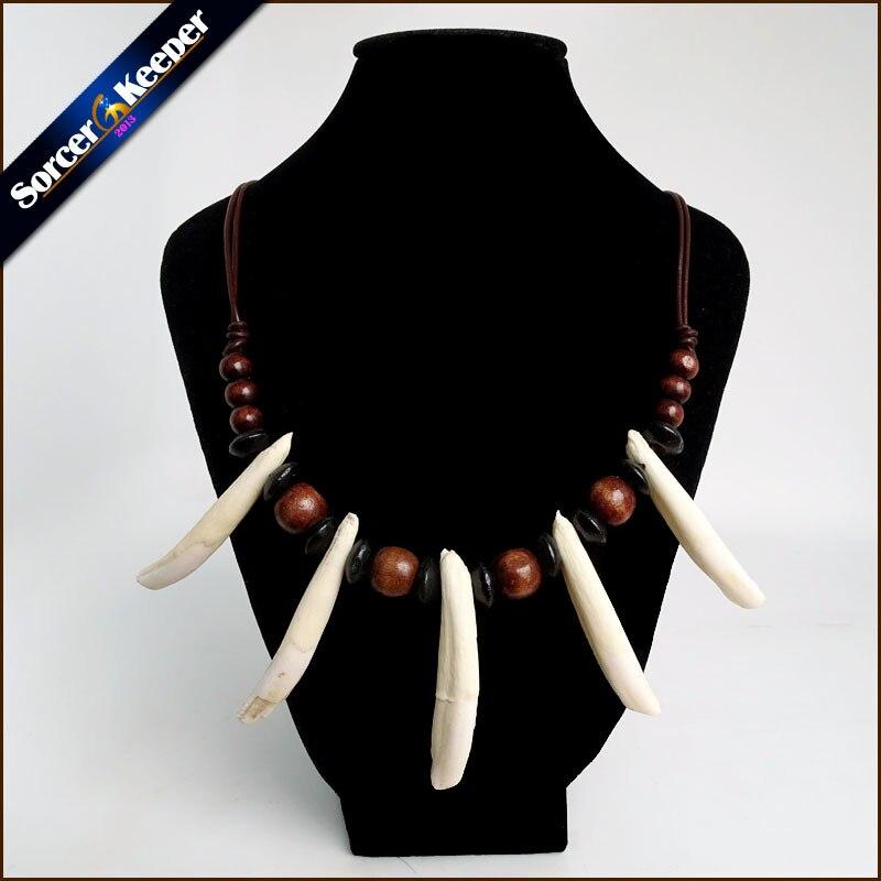 c90a9c64762e ... mujeres el Tíbet joyería amuleto blanco Diente de lobo Real colmillos  caninos talla de hueso colgante surfista de cuerda de cuero de collar  ajustable