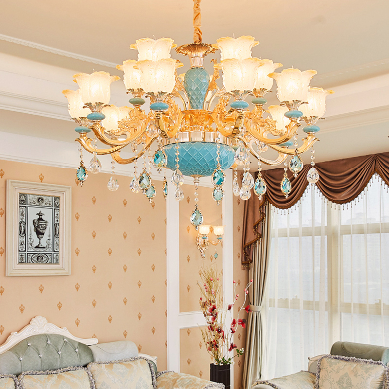Modern Foyer Chandelier Lighting Murano Glass Chandeliers Contemporary Style Lighting Entryway Chandeliers for High Ceiling Lamp redragon inferno