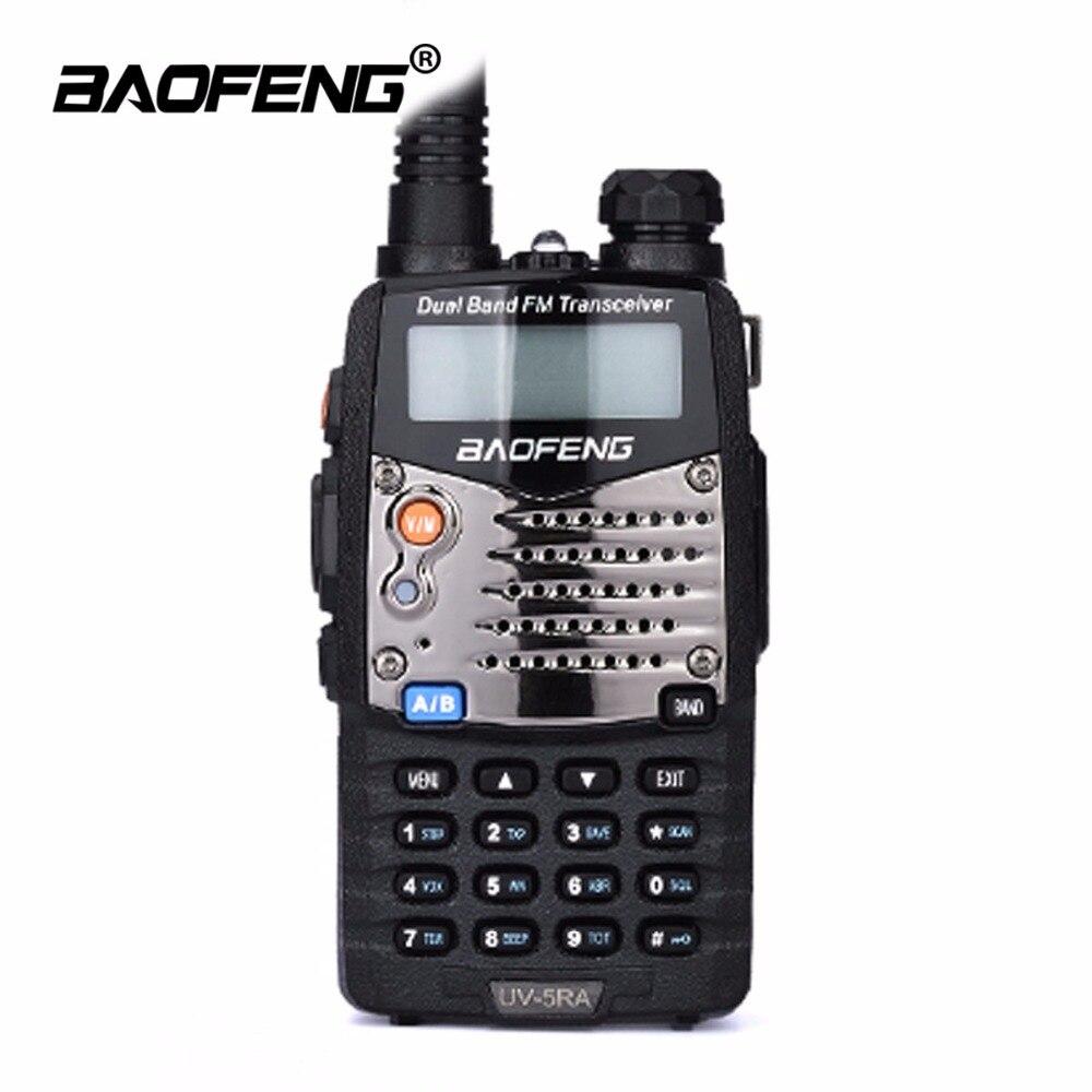 Baofeng UV-5RA Talkie Walkie Mise À Niveau Version Sans Fil Portable Double Affichage Deux-way Radio UHF VHF Double Bande LCD Affichage CB radio