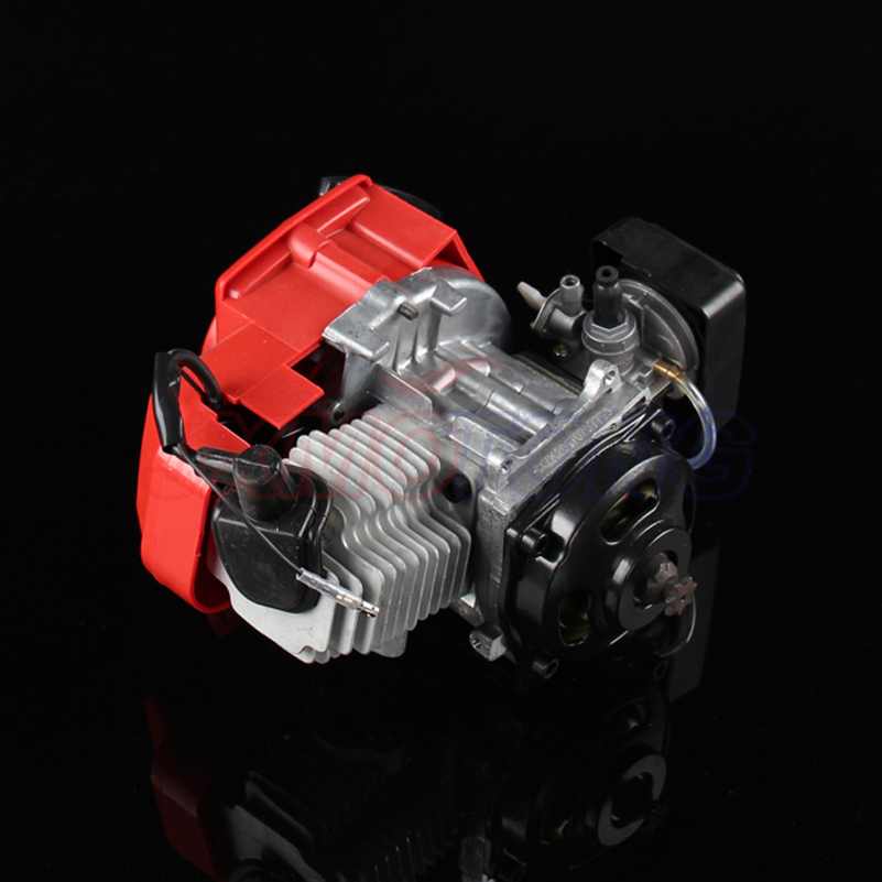 New Superior quality 43cc 47cc 49cc 2 STROKE ENGINE FOR MOTOR MINI QUAD ROCKET POCKET BIKE 2 stroke ignition coil for 33cc 43cc 47cc 49cc 50cc pocket dirt bike atv scooter