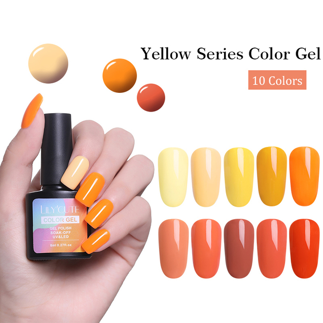 LILYCUTE 8ml Hallowmas Nail Gel