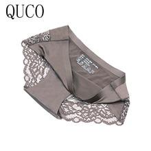QUCO brand 3pcs/lot women panties sexy pink underwear  cotton ropa interior femenina lingerie calcinha feminina