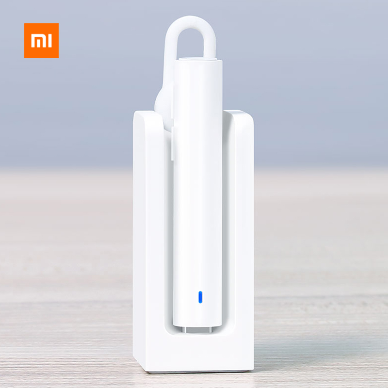 Original Xiaomi Mi Bluetooth Headset Wireless Earpiece Hands Free Earphones With Mic & Charging Dock Black