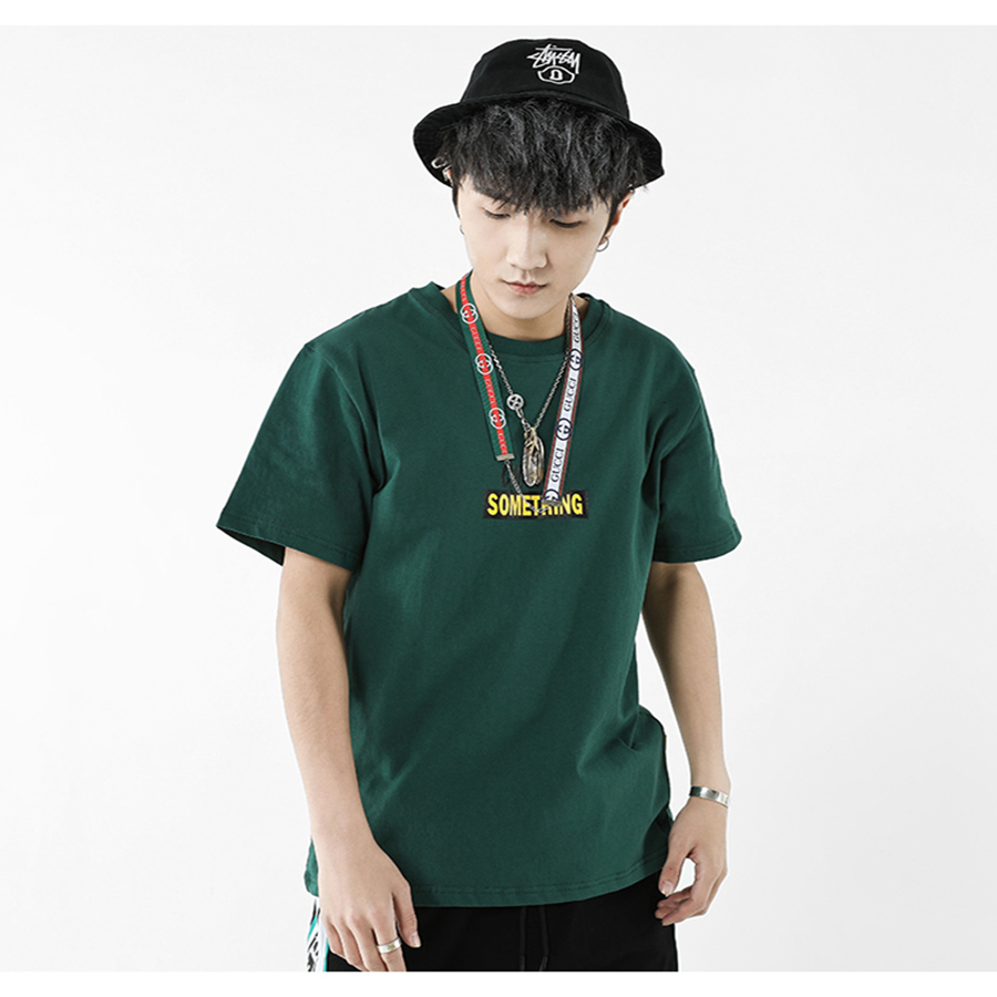 Korean Loose Tshirt Men Fashion Summer Tumblr Vintage Oversized T