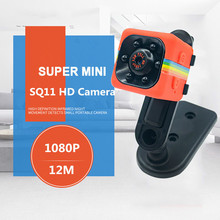 SQ11 мини Камера Full HD 1080 P спортивная видеокамера SQ8 SQ12 микро инфракрасные лучи для определения движения Ночное видение видео Регистраторы Широкий формат