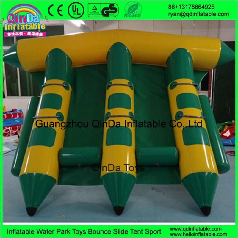 inflatable flying fish banana towable boat63