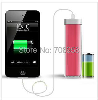 Freeshipping new Portable mobile charge,for iPhone,iPad,MP3,MP4 or mobile phone,mobile power bank charger