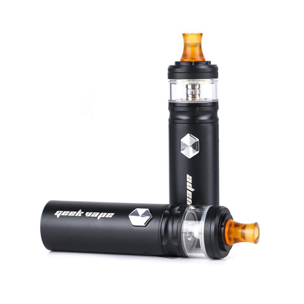 Le plus nouveau Geekvape Flint 1000 mAh kit Vape stylo MTL vaping vaporisateur avec bobine NS et 2 ml atomiseur Kits de cigarettes électroniques pour CBD