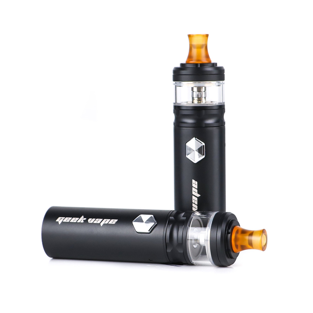 Le plus nouveau Geekvape Flint 950 mAh kit Vape stylo MTL vaping vaporisateur avec bobine NS et 2 ml atomiseur Kits de cigarettes électroniques pour huile CBD