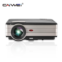 CAIWEI Digital LCD Projector LED Proyector Home Theater Short Throw Video Full HD 1080P Big Screen Beamer For Smartphone Laptop