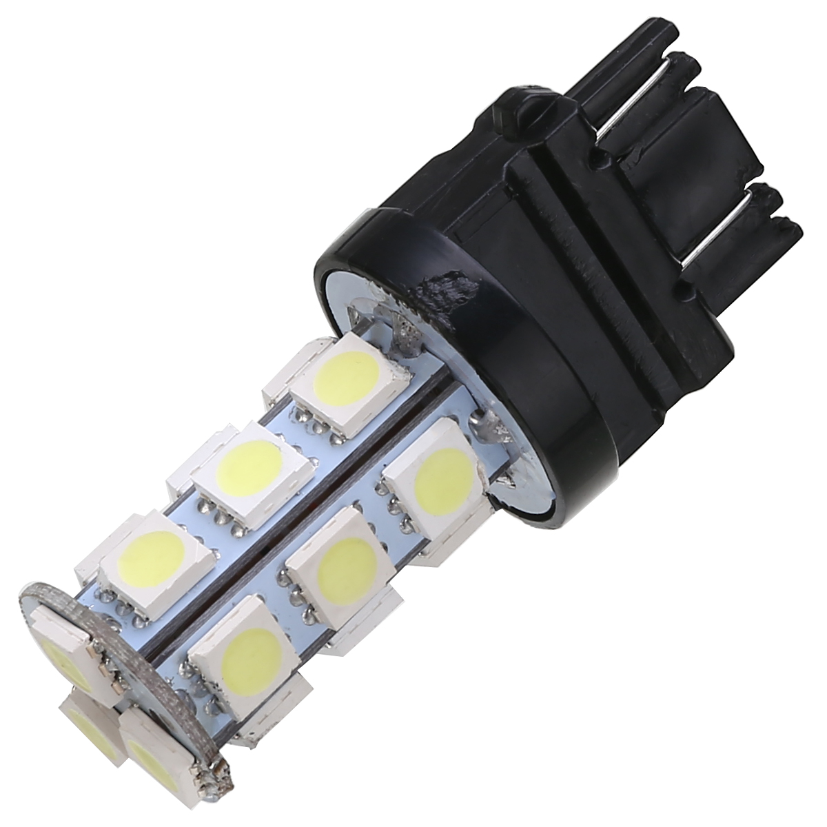 10pcs 12V 3157 18SMD Car Tail Bulb Brake Lights Auto Daytime Running Light Reverse Lamp 6000K White Turn Signal Light
