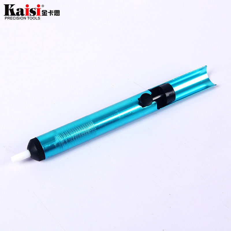 Aluminum Desoldering Pump Suction Tin Solder Suckers Desoldering Gun Soldering Iron Pen BGA Hand Tools