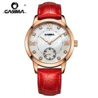 2018 Luxury brand watches women fashion leisure female waterproof womens quartz wirst watch leather 2606