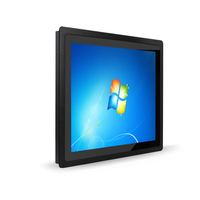 2017 new 15.6 inch high resolution industrial panel pc with dual