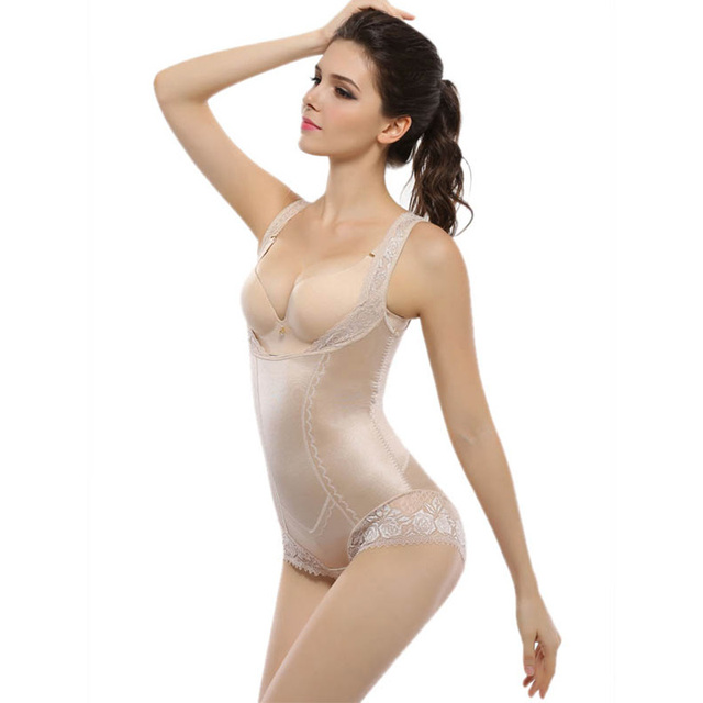XXL Women's Shapewear Tummy Control Sexy Slimming Waist Vest Underbust Corsets lace Girdle Body Shaper Corrective Underwear