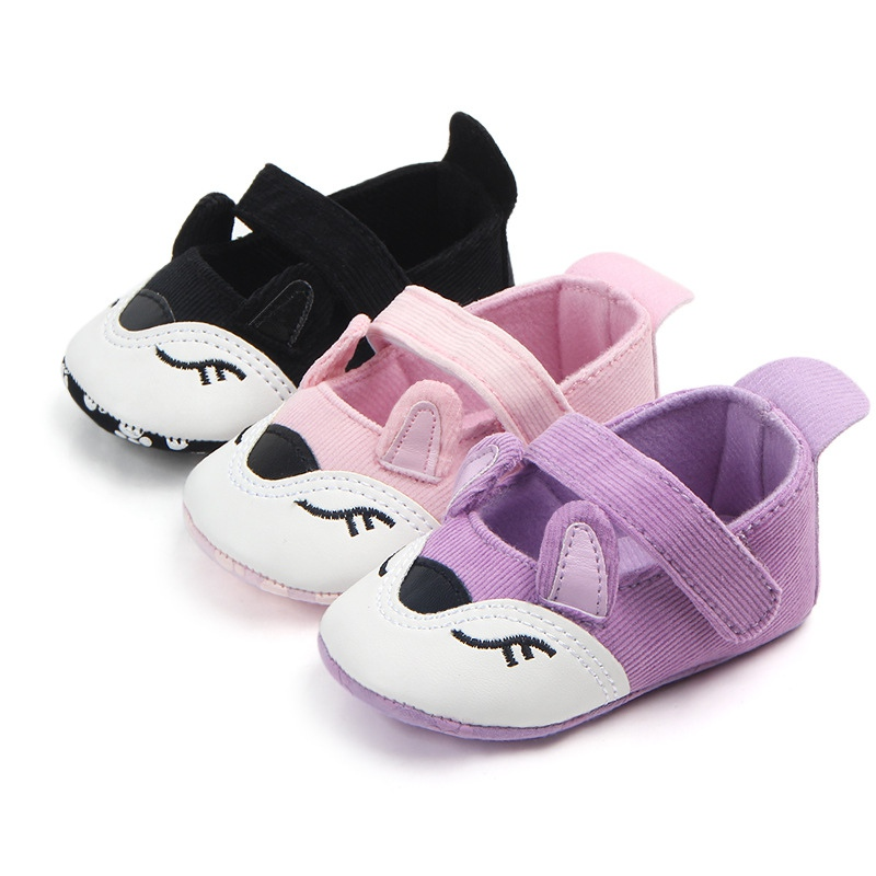 Baby Shoes Infant Cartoon Anti-slip Shoes For Girls Spring Autumn Kids Soft Sole First Walkers Casual Walking Shoes 2018 New