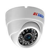 """1/4 """"CMOS 720 P 1,0 Megapixel Kunststoff 24 stücke lR LEDs Festobjektiv H.264 Kostenlose APP Sicherheit Dome-kamera Indoor Überwachung Ip-kamera"""