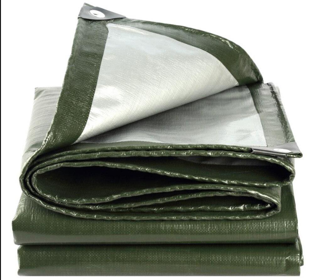 5X3m ArmyGreen Outdoor Waterproof Cover , Waterproof Tarps, Rain Tarp, Truck Tarpaulin.larger Tent Material