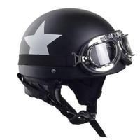 Motorcycle Helmet Adult Motocross Off Road ATV Dirt Bike Half Helmet Male And Female Couple Helmet