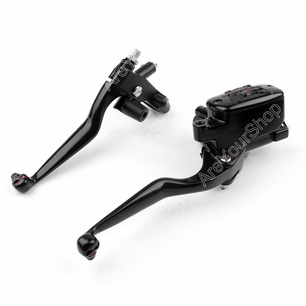 Areyourshop Motorcycle Brake Clutch Levers 7/8( 22mm) Handlebar for Honda CA125/CA250 for Yamaha XV125/XV250/XV500 1Pair motorcycle brake clutch levers for honda cbr250r cbr250 cbr600f f1 f2 f3 f4 cbr600rr f5 cbr900rr cbr900 1pair black hot sale