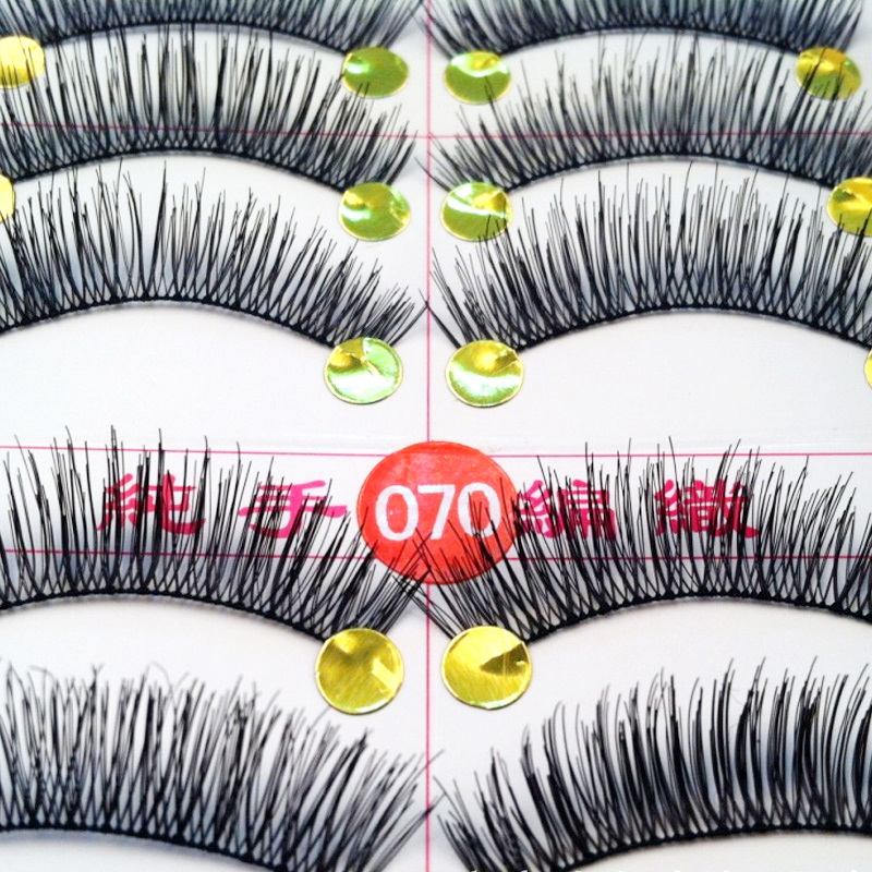 20Pairs Handmade Eyelashes Extension Individual Eye Lashes Soft Long False Eyelashes Make Up Eye Lashes Professional Eyelash