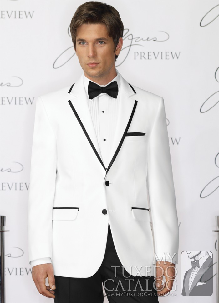d37bb266f US $87.66 |White And Black Man Suit 2 Pieces Mens Wedding Prom Dinner Party  Suits Slim Fit Groom Tuxedos Custom Made 2016 Jacket+Pants-in Suits from ...