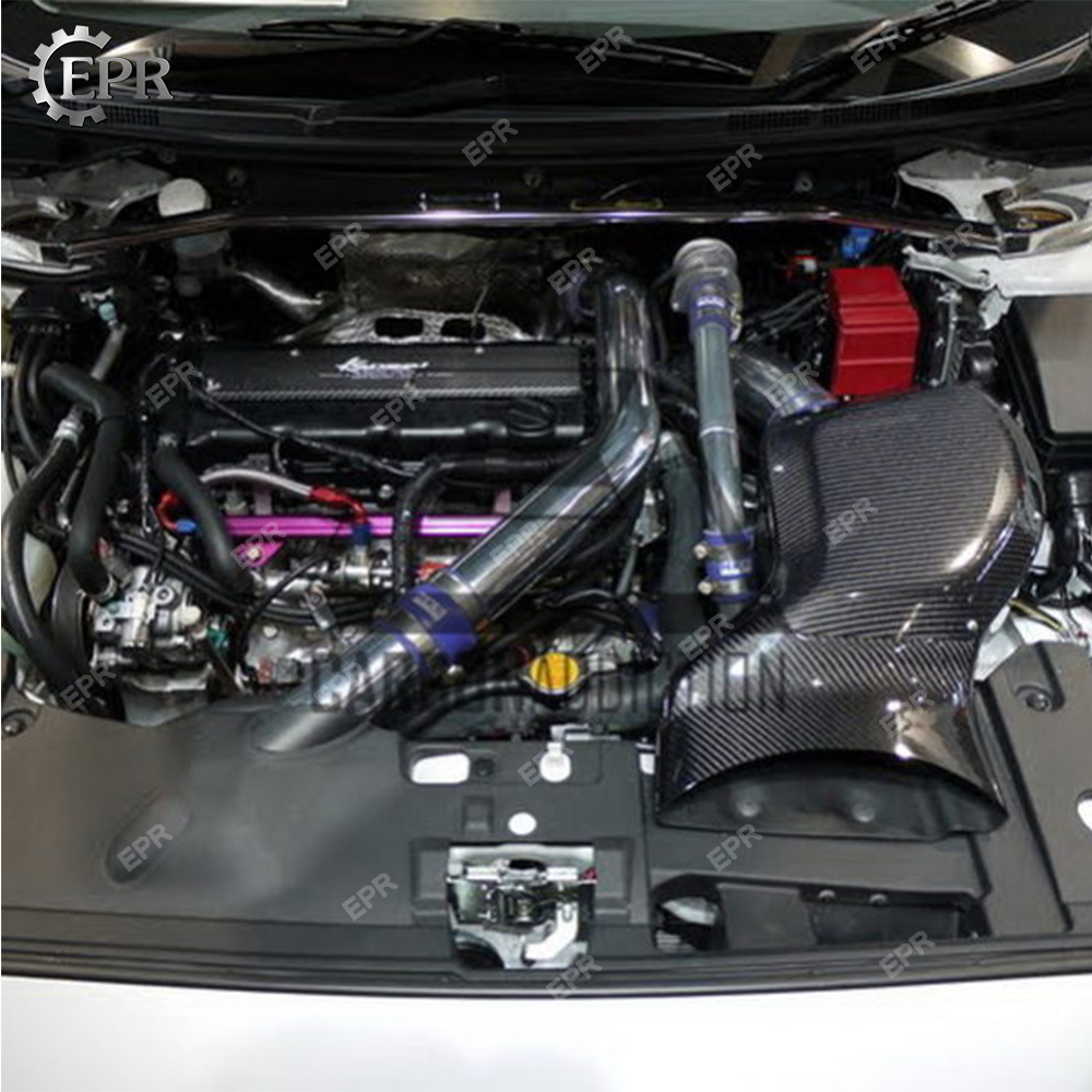 Need to be use HKS Suction Kit For EVO 10 Carbon+FRP Kan Style Air Intake Box