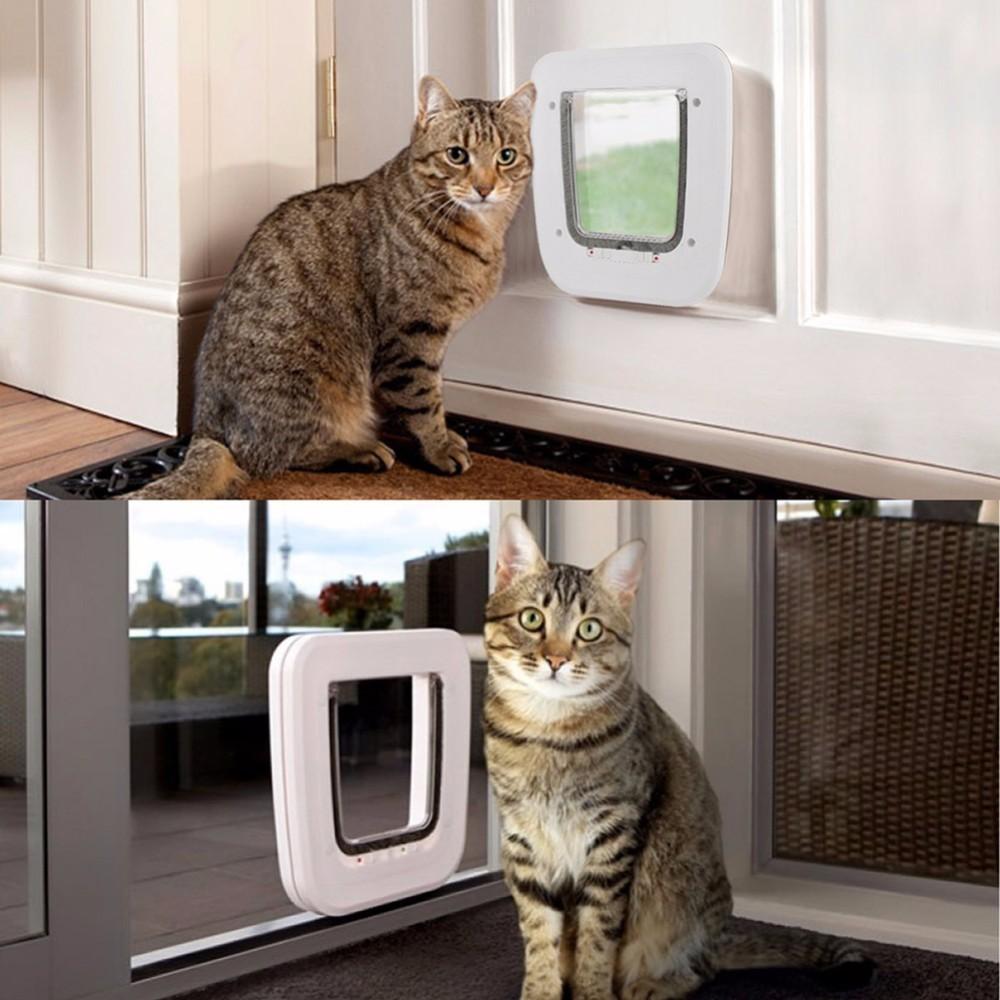 Newest Pet Door Automatic Closing Door For Cats Dogs