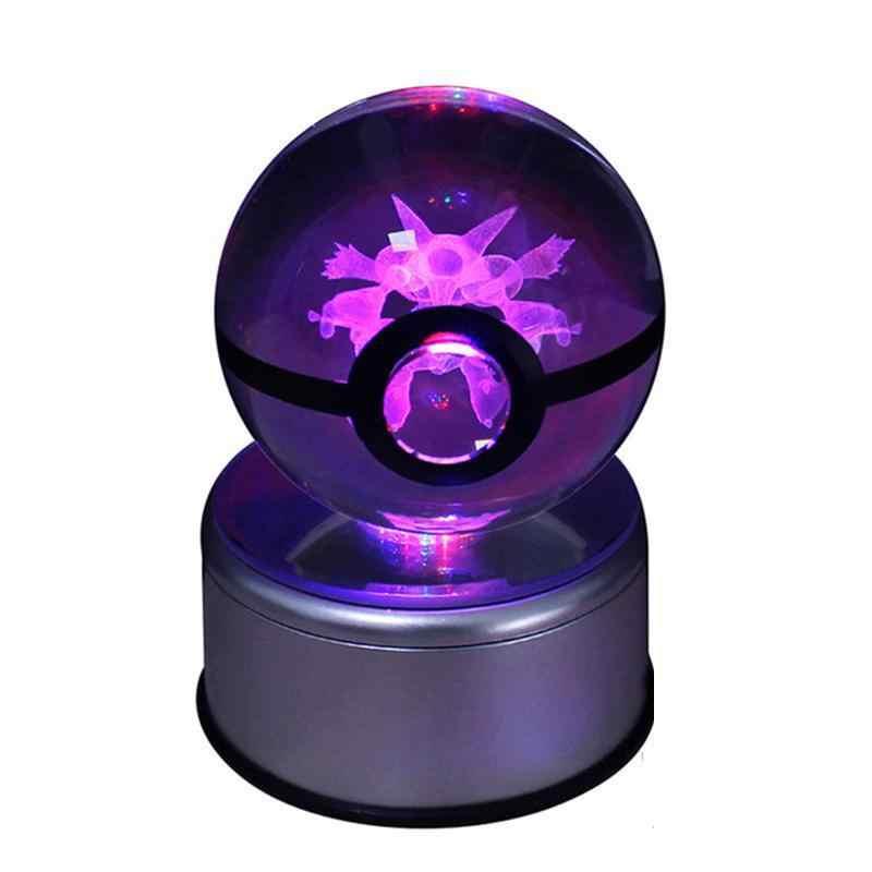 Супер дракон Кристалл стол 3 S лампа Стекло мяч, Животные Дизайн внутри фигурки игрушка для декоративных подарки Таблица лампы