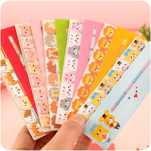 48 pcs/Lot Cute post stick memo paper animal sticky note it stickers bookmark stationery papelaria office School supplies A6754