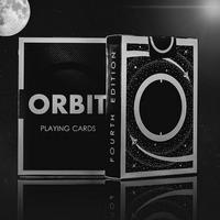Orbit V4 Black Playing Cards Deck Brand New Sealed Magic Props