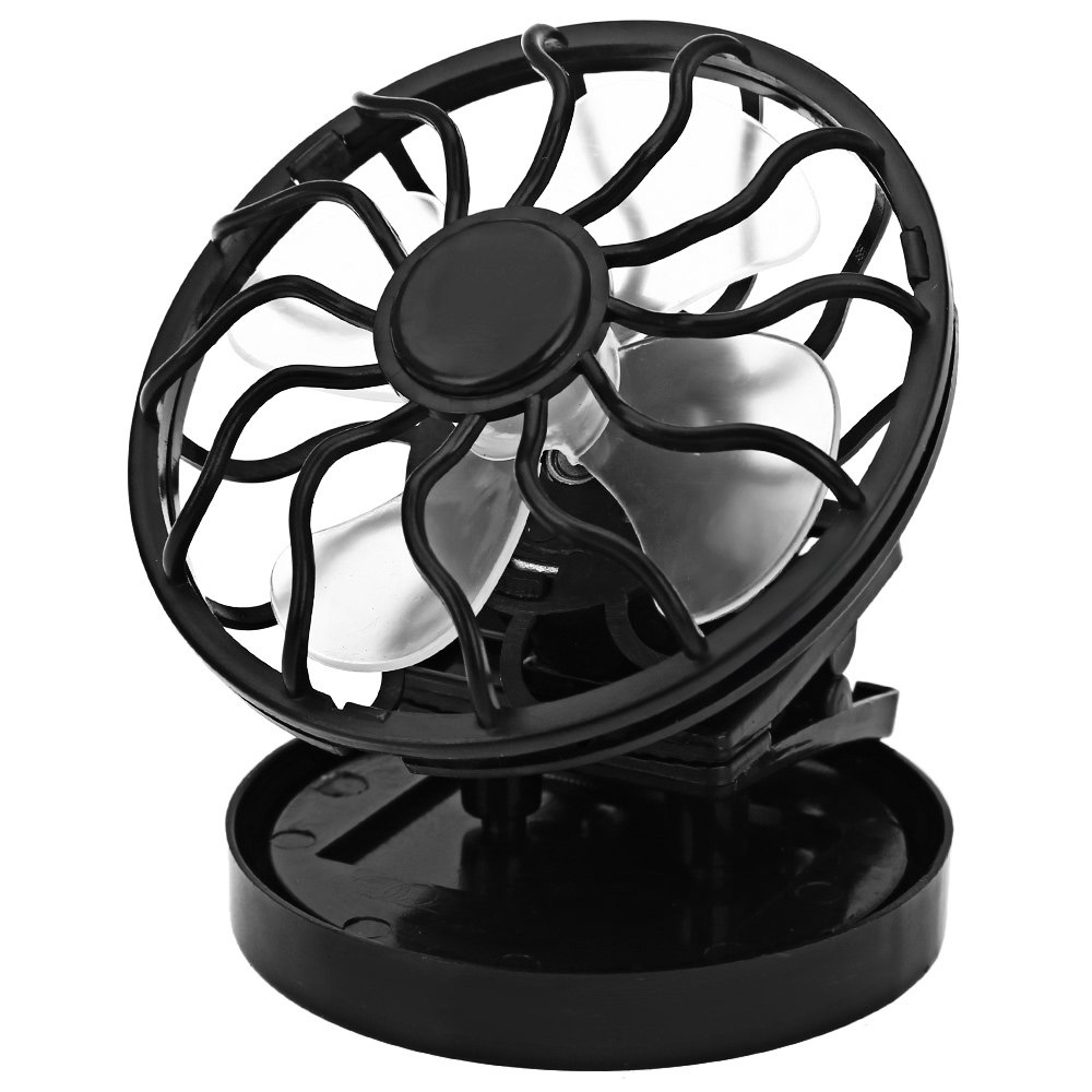 black solar fan clip on cooling cell cooler for travel c ing 12V Solar Panel Wiring Diagram black solar fan clip on cooling cell cooler for travel c ing cooling fan portable perfect design solar power panel mini fan in fans from home appliances