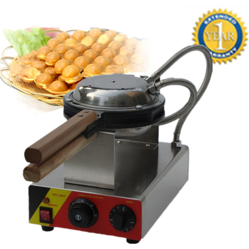 Home Use Stainless Steel Electric Egg waffle Machine QQ Egg Waffle Maker Kitchen Appliance Machine