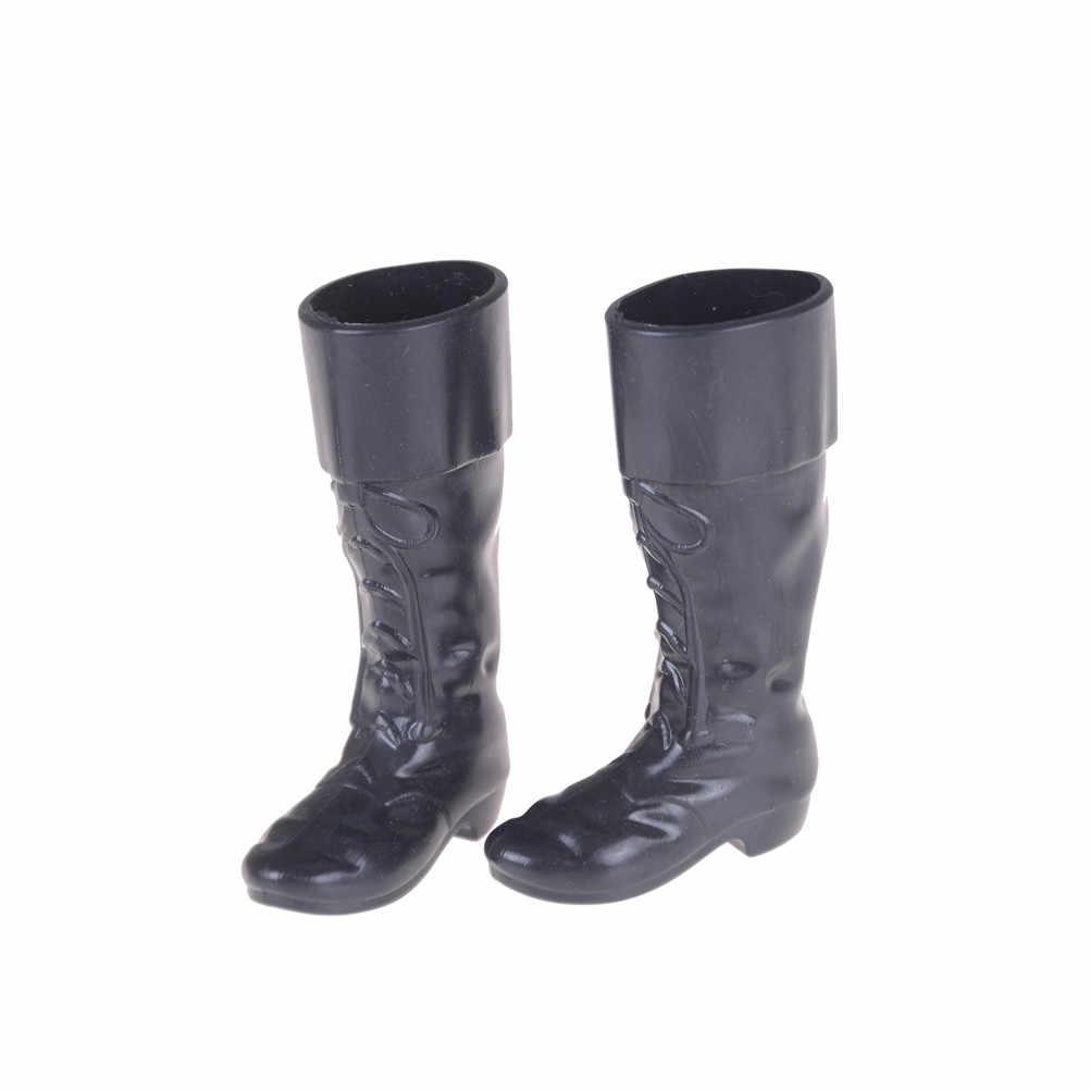 Baskets genou bottes hautes pour copain Ken 4 paires vêtements accessoires habiller pour ami poupées Cusp chaussures