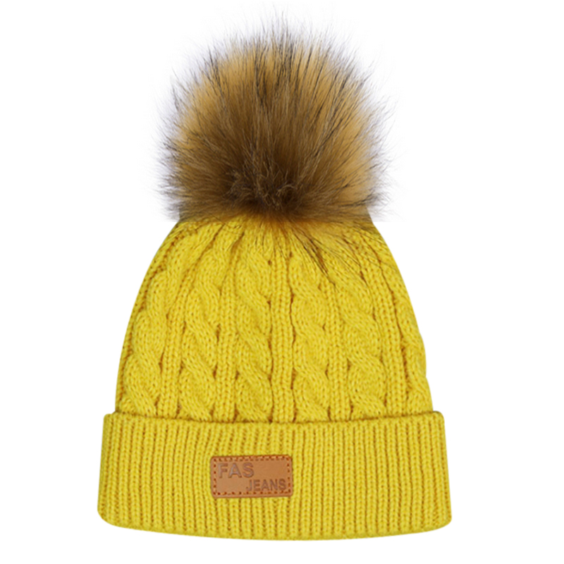 Winter Hat For Girls 2018 Children Pom Hat Knitted Beanies Cap New Fashion Baby Caps Baby Girl Winter Warm Hats for kid брюки i love to dream брюки