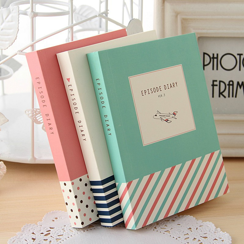 Episode Journal Diary Lined Papers Pocket School Study Notebook Memo