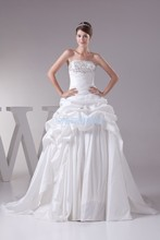 the wedding free shipping 2013 new with sequins theme girl clothes white embroidery best selling ball gown bridal dress