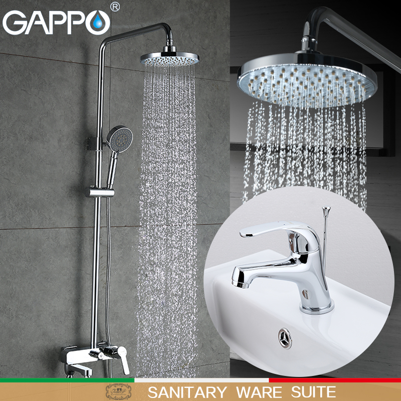Permalink to GAPPO Bathtub Faucets bathtub waterfall faucet bath tub mixer basin faucet water mixer tap basin sink faucet Sanitary Ware Suite
