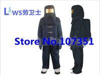 Медведь пламени Температура 1000 градусов теплоизоляция ОГОНЬ БЛИЗОСТИ КОСТЮМ темно синий для работника защиты