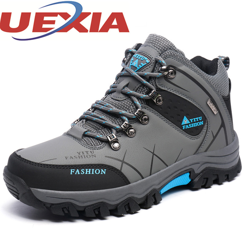 Big Size 39-47 Mens Casual Warm Shoes Winter Outdoor Plush High-Top Cotton Shoes For Men Breathable Sport Footwear Mens Trainers plus size 46 mens casual high top shoes winter warm plush ankle boots men shoes outdoor fashion cotton shoes mountain zapatos