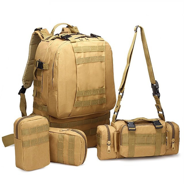 aa8b54ad26a4 50L Large Capacity Backpack Camouflage Military Backpack School Bags For  Teenagers Boys Laptop Travel Bag Mochilas