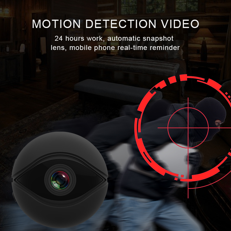 Image 5 - Night Vision With Motion Sensor Camcorder Wi Fi Small IP Secret Micro Video Mini Camera Cam HD 1080p Wifi Minicamera Microcamera-in Mini Camcorders from Consumer Electronics